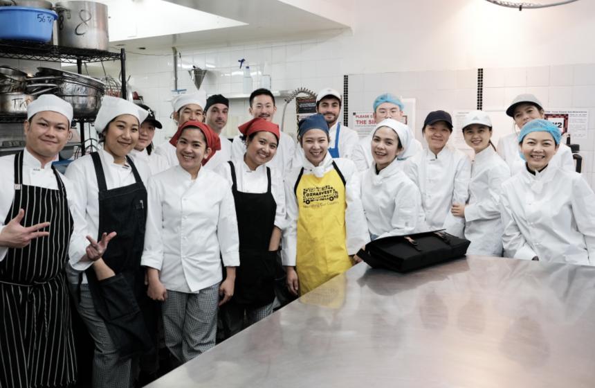 First Cookery Class