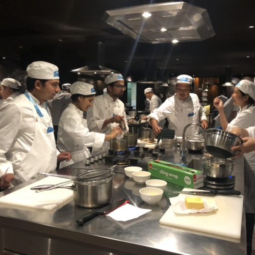 Cookery Course Practical Class