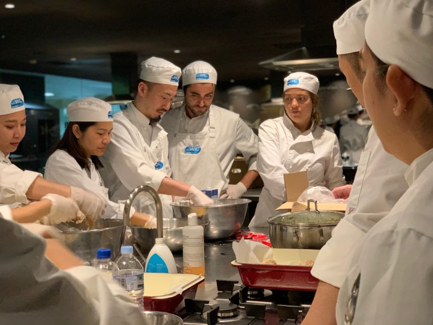 Sneak peak at our Cookery Class