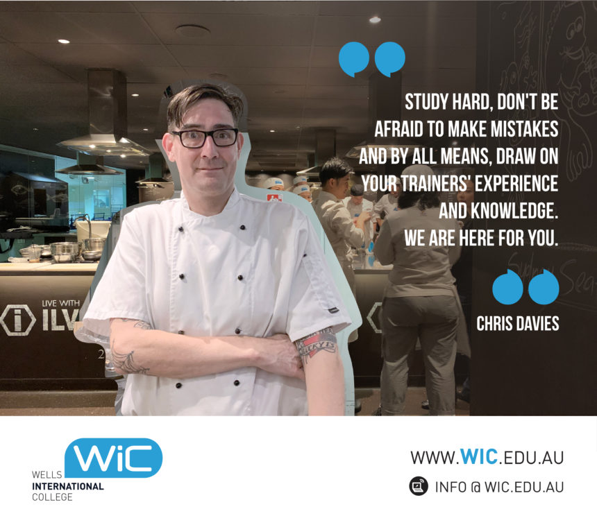 Get To Know Christopher Davies, our Cookery Course Coordinator